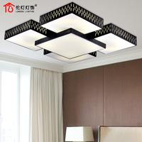 Modern brief rectangle ceiling light restaurant lights 51(5 head ceiling light)