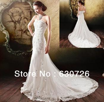 Wedding Decoration Mermaid Dress for Plus Size Corset Wedding Dress off shoulder vintage dress Bridal Wedding Gown 032