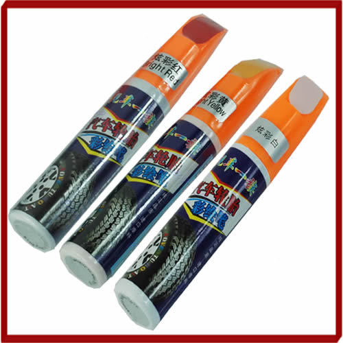 A31 Car Scratch Pen Auto Motorcycle Tyre Tire Tread Touch Up Marker Paint Pen Red,White,Yellow Drop Shipping(China (Mainland))