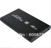 """Free shipping USB3.0 2.5"""" inch Hard Drive box, HDD SATA Hard Disk Drive Enclosure,USB HDD External Enclosure hard-disk cartridge"""