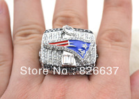 2001 New England Patriots Super Bowl replica championship rings,rhodium plated,free shipping
