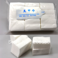 2pack/lot 900pcs Nail Wipes Pad Gel Acrylic Tips Polish Remover Tool Soft Cotton FREE SHIPPING