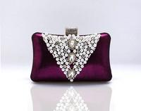 TOP!GOOD QUALITY  ladies fashionstely  crystal Evening bag  wedding bag  free shipping hot
