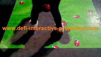 Best price interactive floor system for advertising,show,Free shipping