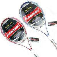 Free Shipping Kawasaki KAWASAKI 650 full carbon beginner tennis racket 199