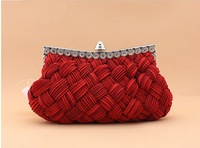 TOP!GOOD QUALITY  ladies fashion crystal Evening bag sexy stely hand bag women's bag free shipping hot