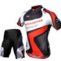 2013 NEW Cycling Bicycle BIKE Comfortable outdoor Jersey + Shorts size M- XXXL summer mountain bike clothes free shipping