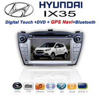 3G Hyundai Ix35 2 two Din Car DVD player with GPS Navigation audio Radio stereo,FM,USB/SD,Bluetooth/TV,digital touch screen