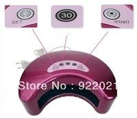 Free shipping: 2013 hot selling 12W nail dry led light