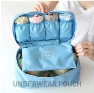 Korea Design Multifunctional Portable Travel Storage Bag Underwear Bra panties organizer pouch Bin Sorting Washes Box Waterproof