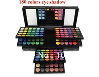 2013 New Arrival  180 Colors Eyeshadow Eye Shadow Makeup Make Up Palette Kit Free Shipping