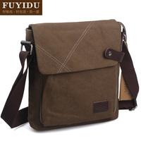 Fashion trend of the 2012 vintage fashion canvas man bag personalized sports messenger bag