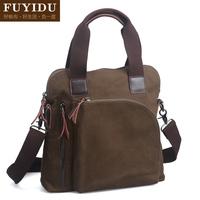 Handbag canvas bag man bag casual trend of the messenger bag vintage summer bags