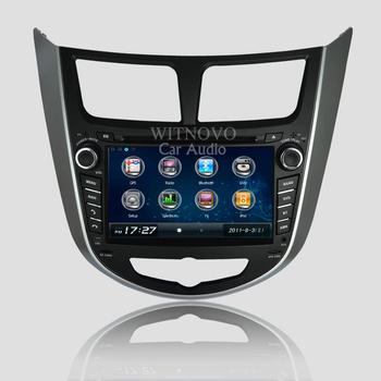 Stereo for Hyundai Verna Solaris Accent Headunit DVD player GPS set navi tape recorder Auto radio Mutimedia with RDS Bluetooth