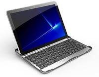 Aluminium Bluetooth Keyboard Case For Samsung Galaxy Tab 2 P5100 P5110 P5113