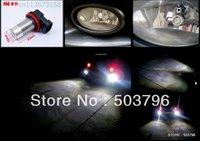 Free shipping2x H11 CREE Q5 5W LED Car Fog Light Bulbs for FORD S-MAX 2006 MK3 MK4 on BMW X3 04+ X5 03+ E53 1 SERIES E87 Z4