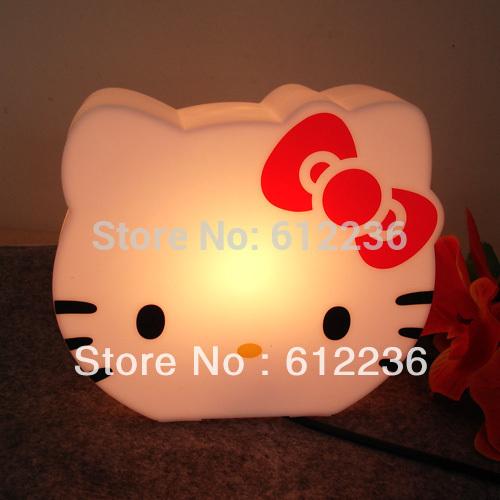 nieuwe hello kitty tafellamp nachtverlichting mode schattige spaarpot mooi voor kinderen
