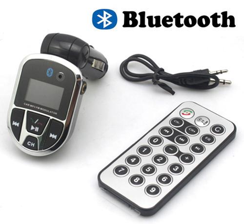 A.JPG. Новый черный автомобиль Bluetooth MP3 плеер FM передатчик модулятор