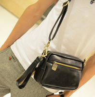 Male women's messenger bag handbag small bags one shoulder cross-body bag small 2013 messenger bag man bag