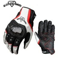 HOT New Mens Driving Racing Bicycle Motorcycle Cycling ACOOLBAR Leather Gloves
