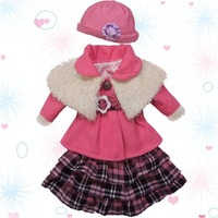 "Elegant doll overcoat costume for 24"" USA Girl Fashion toy outerwear dress set/suit Many styles"