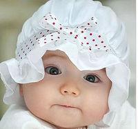 10PCS  LITTLE PRINCESS BABY CAP KIDS HATS COTTON