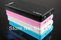 2014 Newest practical capacity Wallet style Power Bank 10800mAh USB Battery Charger External Battery Pack With LED Lighting