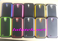 DHL Free shipping Defender Hybrid Impact Hard Case Silicone Cover for samsung galaxy s4 mini i9190