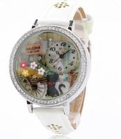 Handmade POLYMER CLAY Korea Mini Diamond  Watch,Hot Selling - welcome dog