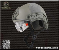 2013 NEW Emerson FAST Helmet with Protective Goggle MH Type helmet Military airsoft helmet Foliage Green