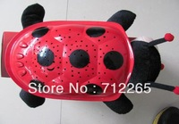 free shipping The Starry Sky Projection Ladybug Sleep Light +The power cord