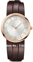 Free shipping Ladies quartz watch Quartz Movement Stainless steel case Noble and elegant