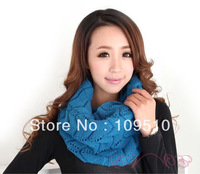 Wholesale, winter classic pattern, 8 colors, women's fashion new wave style warm cashmere knitted long pashmina loop scarf