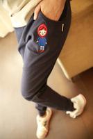 Women's 2013 summer embroidery lilliputian harem pants sports pants casual pants d05