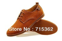 Free shipping fashion men sneakers with cowhide genuine leather vamp + cow muscle sole from manufacturer US size 5-15