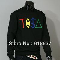 TISA men o-neck pullover sweatshirts HIP HOP fleece cotton coats Male sports outerwear