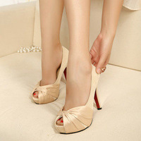 New arrival 2013 fashion ol shoes open toe single shoes women's platform high-heeled shoes spring
