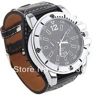 New Fashion Men Analog Watch Big Quadrate Dial Boys' Leather Wrist Watch For Children Gift free drop shipping