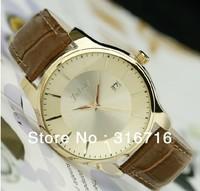 Free Shipping Original Designers Famous Branded JULIUS Men's Watches,Fashion Quartz Round Unisex Leather Wristband JA-455