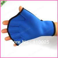 Male and female children swimming supplies neoprene swim gloves