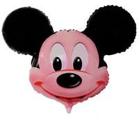 free shipping\Aluminum decorative balloon wholesale balloon cartoon balloon big Mickey head Toys Inflatable Toys