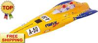 R/C Boat Nitro Powered Boats Swift 1000NP21(Yellow)-RTR(Pistol Transmitter) EMS Free Shipping Drop Shipping R/C Model