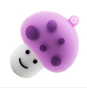 M-17 Wholesale Cheap Enough Cartoon Purple Mushroom Head 4GB 8GB 16GB 32GB 64GB USB 2.0 Flash Memory Stick Drive Thumb/Car/Pen