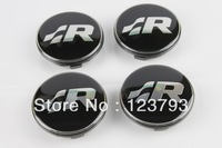 Volkswagen R Line WHeel Center Caps 65mm PN:3B7 601 171 For VW POLO JETTA PASSAT LUPO