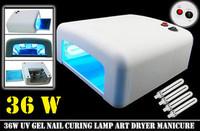 110V 36W Fashion UV Gel Shellac Acrylic Curing Light Lamp Nail Dryer Drying