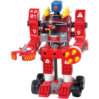 Electric blocks robot model optiones stereo assembling diy electric
