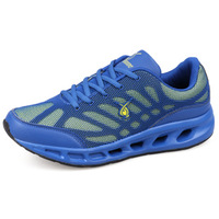 Free Shipping Slimming fitness 2013 spring and autumn man running shoes light breathable sport shoes men