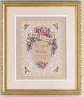 Dmc cross stitch kit 03794 lace wedding