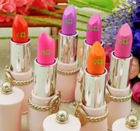 Beautiful crystal glossy lipstick purple rose yeh