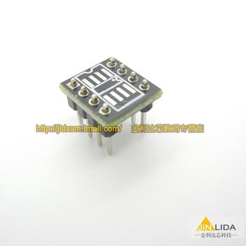 SMD test board DIP switch test socket SOP DIP op amp transfer switch DIP8 SOP8 converter board seat thickened--10PCS/LOT